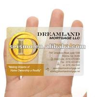 Matte Clear Business Card