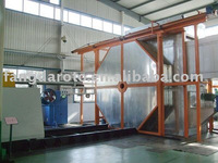 two arms shuttle rotational moulding machines equipment