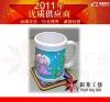 Soft PVC Mug with pvc customized part