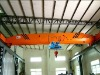 LD model remote control 10ton single girder overhead crane