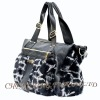 CX-H-45 Rex Rabbit Fur & Leather Tote Handbag New Arrival
