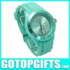 2012 hot sell colourful fashionable cheap silicone watch