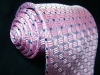 Pink Business Silk Necktie