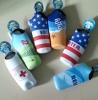 Neoprene water bottle carrier