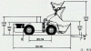 WJ-2 mining/underground loader
