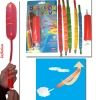 Air pump rocket toy