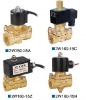 pneumatic 2/2 way brass valve (2W series)  for water use