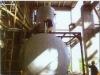 Spraying packing type deaerator and water tank