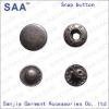 Brass snap button