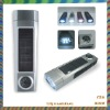 Solar flashlight light  with the compass,led solar torch