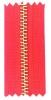 metal long chain,brass zipper,gold zipper