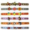 PVC Cross button wristband