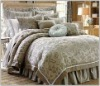 CLEARANCE QUEEN ASIAN ORIENTAL JAPANESE COMFORTER SET BEDDING 4PC