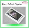 Russia E-Book Reader for Electronic-Book Reader 7''inch E-Book Reader+RK2738 TFT Screen with MP3 Movie earphone Hot Sales