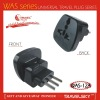 2012 HOT SALE Universal to Italy Adapter Plug with safety shutter (WAS-12)