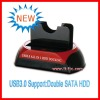 HOT USB3.0 to SATA 2.5'/3.5'HDD Docking
