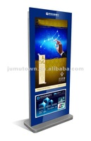 "55"" LCD advertising display kiosk, digital singage player with light box"