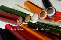 Cellophane paper in roll and sheet
