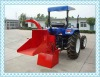 CE farm machinery 40hp wood chipper