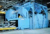 Steel plate pre-treatment line, shot blasting, painting and drying