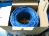 0.5mm cat5e utp cable / 4 pairs lan cable solid /Cat 5e 24AWG UTP Solid Bulk Cable
