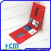 Good promotional gifts silicone business card case