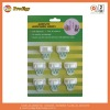 plastic adhesive hooks and clips