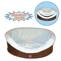 Pet bed-MIRCO SUEDE DOG SLEEPING BED, SET OF 3(M1090)