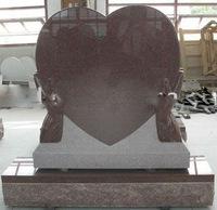 heart shape memorial stone