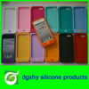 red silicone phone case cell phone case suit for Iphone 5g with spot goods and package