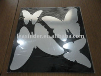 Butterfly mirrored wall sticker for home decoration