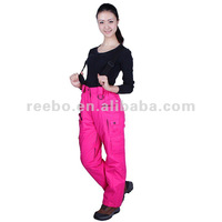 2012 latest style ladies ski pants