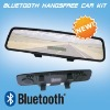 Car Rearview Mirror with Bluetooth car kit