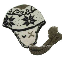 Jacquard winter hat