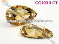 Flat back Teardrop sew on crystal beads