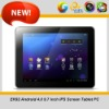 All winner A10 1.5 GHZ 9.7 inch IPS capacitive Android 4.0 Table PC