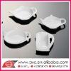 Teapot Shape White Porcelain Tea Saucer
