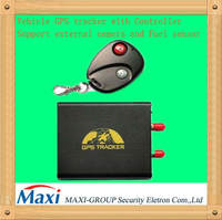 the newest Car GPS tracker can support camera,fuel sensor,can remote control for ARM or DISARM