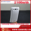 Bluetooth headset+2100mah For Samsung Galaxy S3 i9300 External Backup Battery Charger Case