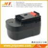14.4V Cordless Drill Battery for Black & Decker A144EX A14F HPB14