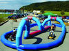 Inflatable Popular Go Kart Track