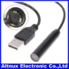 BLACK 2M Home Waterproof Inspection Snake Tube Video endosco Camera USB Borescope CA009