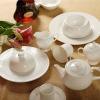 Hotel & Restaurant Durable White Ceramic dinnerware set