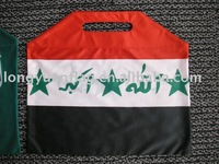 polyester national hand bag flags