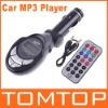 USB/SD/MMC Car MP3 Player With FM Transmitter