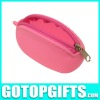 promotional wholesale silicone coin wallet pochi purse