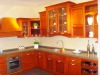 2012 modern popular integrated solid wood kitchen cabinets made in China factory , High Quality wood Kitchen Cabinet 037