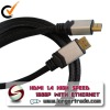 HIGH SPEED 1080P WITH ETHERNET and 3D 1.4 HDMI cable