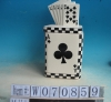 Poker A Ceramic Candies Cookie Jar
