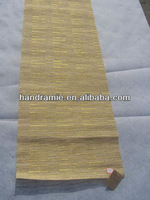 eco-friendly/hand-made natural ramie fabric table runner table mat